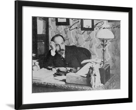 Luigi Pirandello Nobel--Framed Art Print