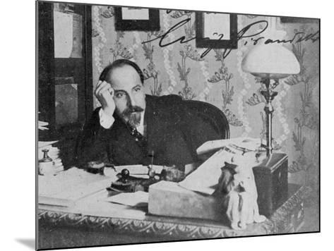 Luigi Pirandello Nobel--Mounted Photographic Print