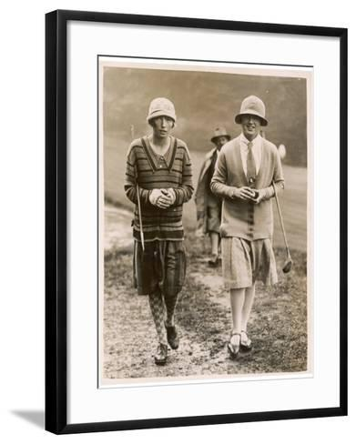 Fishwick Girl Champion--Framed Art Print