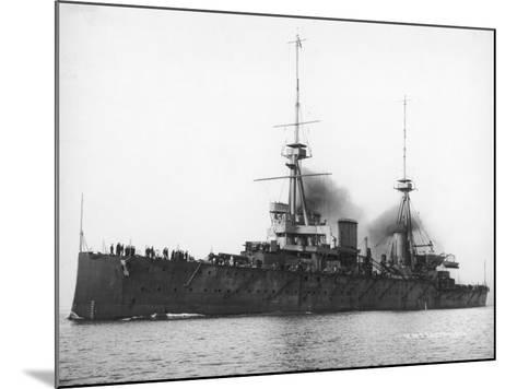 HMS Invincible--Mounted Photographic Print