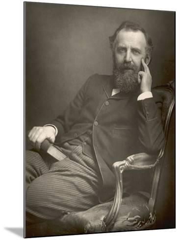 William Thomas Stead English Journalist in 1893-W&d Downey-Mounted Photographic Print