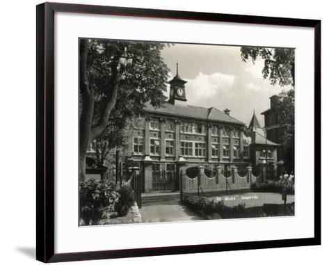 St Giles Hospital, Camberwell, London-Peter Higginbotham-Framed Art Print