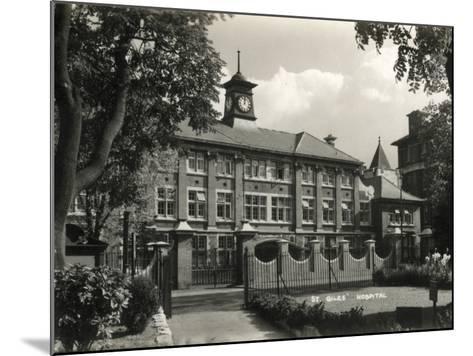 St Giles Hospital, Camberwell, London-Peter Higginbotham-Mounted Photographic Print