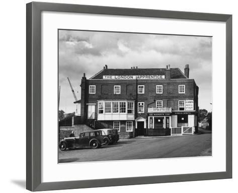 The London Apprentice--Framed Art Print