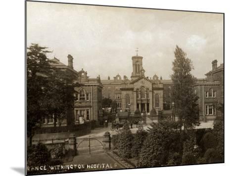 Withington Hospital, Manchester-Peter Higginbotham-Mounted Photographic Print