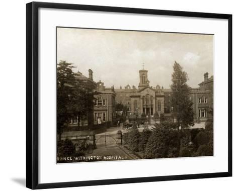 Withington Hospital, Manchester-Peter Higginbotham-Framed Art Print