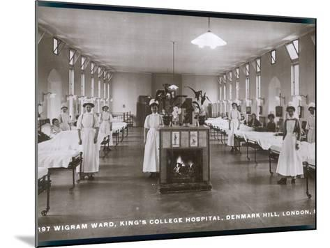 Wigram Ward of King's College Hospital, Denmark Hill, S.E. London--Mounted Photographic Print