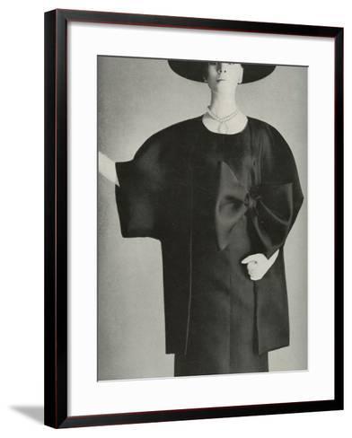 Balenciaga Fashion--Framed Art Print