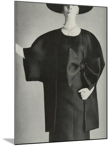 Balenciaga Fashion--Mounted Photographic Print