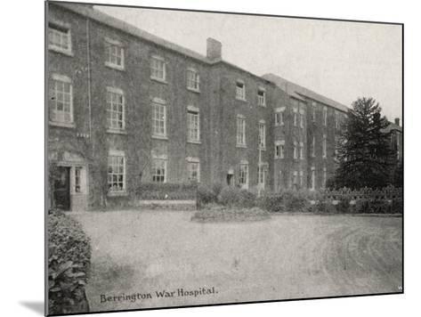 Berrington War Hospital, Atcham, Shropshire-Peter Higginbotham-Mounted Photographic Print