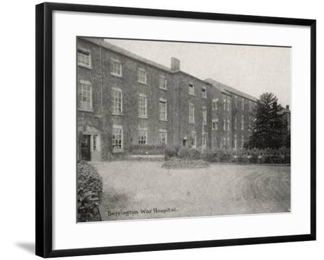 Berrington War Hospital, Atcham, Shropshire-Peter Higginbotham-Framed Art Print
