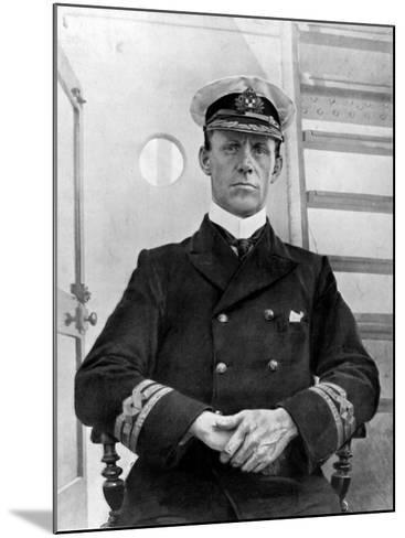 Captain of the Empress of Ireland, Captain G. H Kendall--Mounted Photographic Print