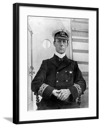 Captain of the Empress of Ireland, Captain G. H Kendall--Framed Art Print
