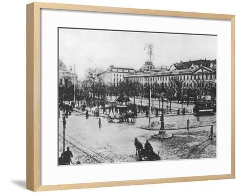 Lemberg (Lviv)-Robert Hunt-Framed Art Print