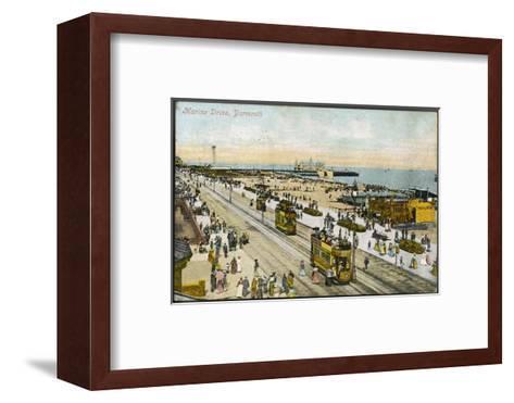 Isle of Wight: Yarmouth Marine Drive--Framed Art Print
