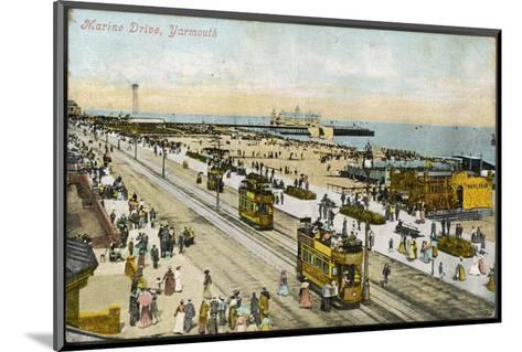 Isle of Wight: Yarmouth Marine Drive--Mounted Photographic Print