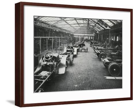 Mab Mead Works, Carnwath Road, Fulham, London-Peter Higginbotham-Framed Art Print