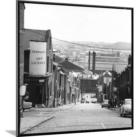 A Sheffield Street Scene-Henry Grant-Mounted Photographic Print