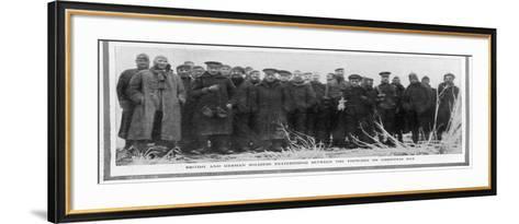 Christmas Truce--Framed Art Print