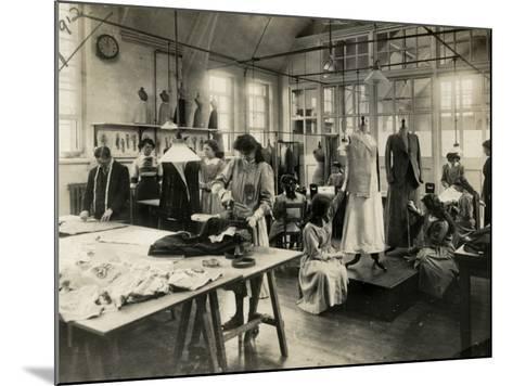 Dressmaker's Workshop-Peter Higginbotham-Mounted Photographic Print