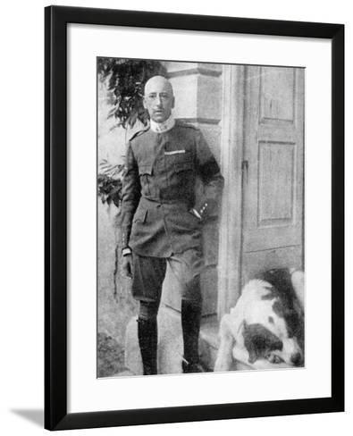 D'Annunzio in 1917--Framed Art Print