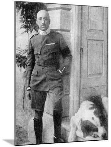 D'Annunzio in 1917--Mounted Photographic Print