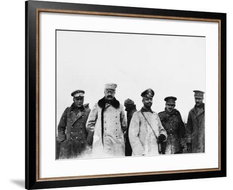Christmas Truce 1914-Robert Hunt-Framed Art Print