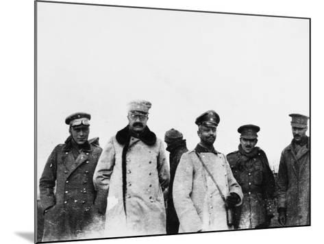 Christmas Truce 1914-Robert Hunt-Mounted Photographic Print