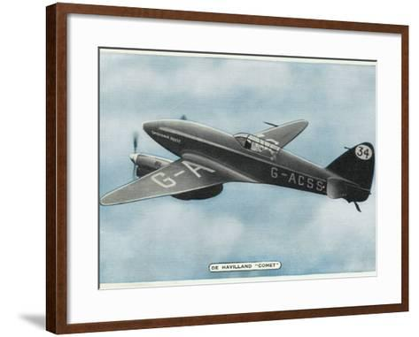 De Havilland Comet--Framed Art Print