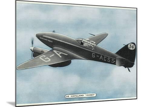 De Havilland Comet--Mounted Photographic Print
