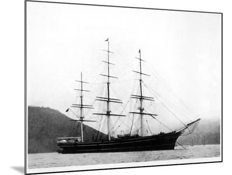 Cutty Sark under Anchor--Mounted Photographic Print