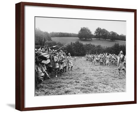 Battle of Hastings--Framed Art Print