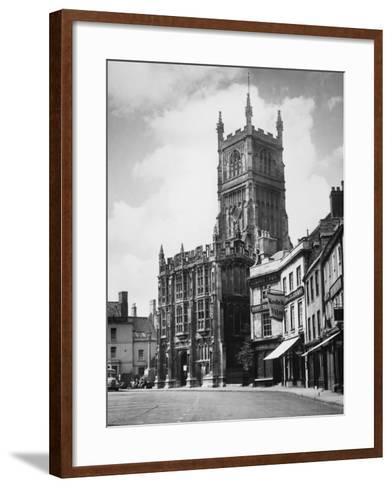Cirencester Church--Framed Art Print