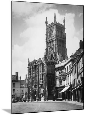 Cirencester Church--Mounted Photographic Print