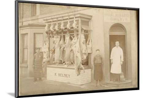 Belsey's Butchers/Photo--Mounted Photographic Print