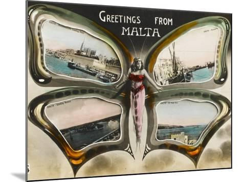 Greetings from Malta--Mounted Photographic Print