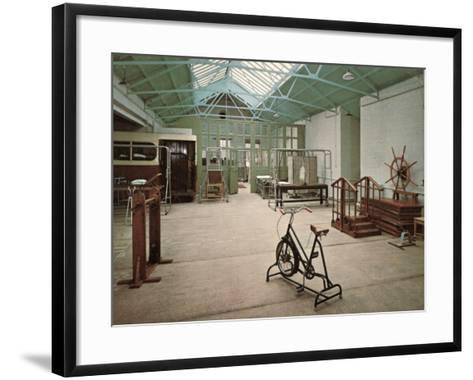 Gymnasium, Princess Mary's Hospital, Margate, Kent-Peter Higginbotham-Framed Art Print