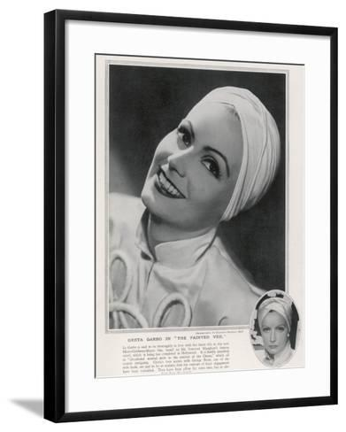Greta Garbo (1905-1990)--Framed Art Print