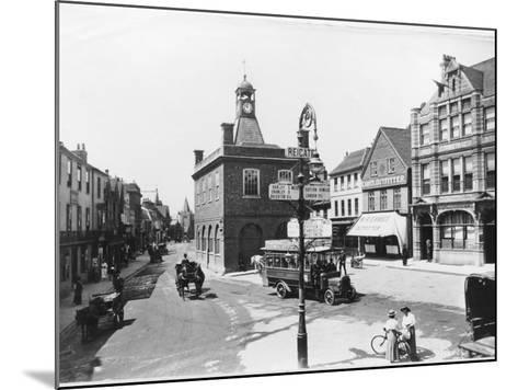 High Street, Reigate, Surrey--Mounted Photographic Print