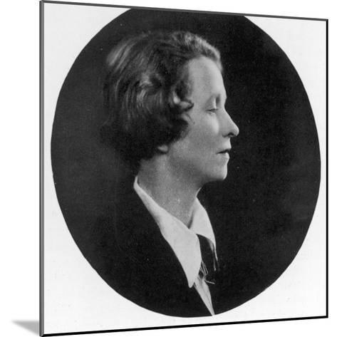 Edna St Vincent Millay American Poet--Mounted Photographic Print