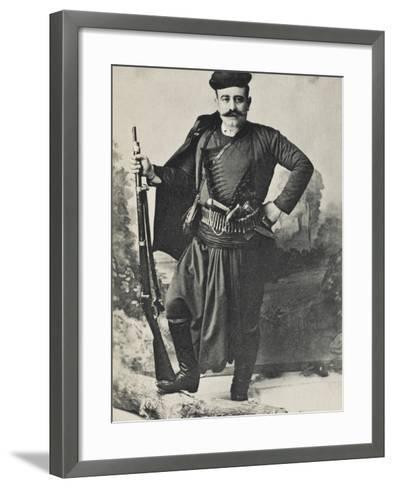 A Greek Cretan Patriot--Framed Art Print
