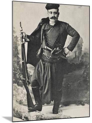 A Greek Cretan Patriot--Mounted Photographic Print