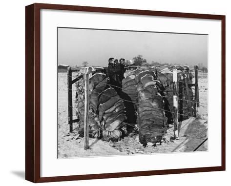 Aircraft Observer Post, WWII-Robert Hunt-Framed Art Print