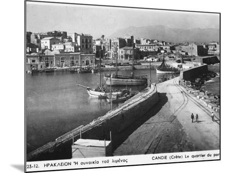 Heraklion, Greece--Mounted Photographic Print