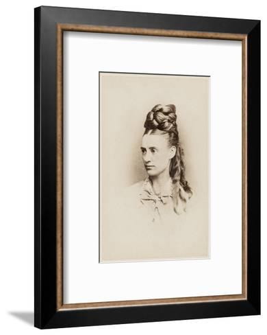 Fantastic Hairdo - Late 19th Century--Framed Art Print