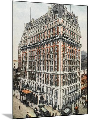 Knickerbocker Hotel - New York City--Mounted Photographic Print