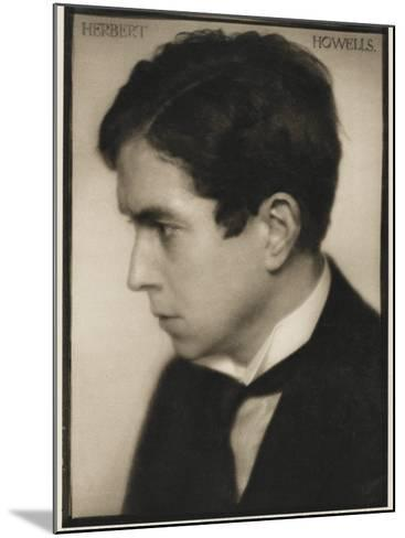 Herbert Norman Howells Organist, Music Teacher and Conductor--Mounted Photographic Print