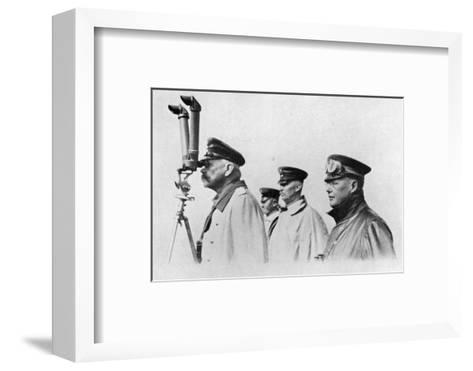 Hindenburg Periscope--Framed Art Print
