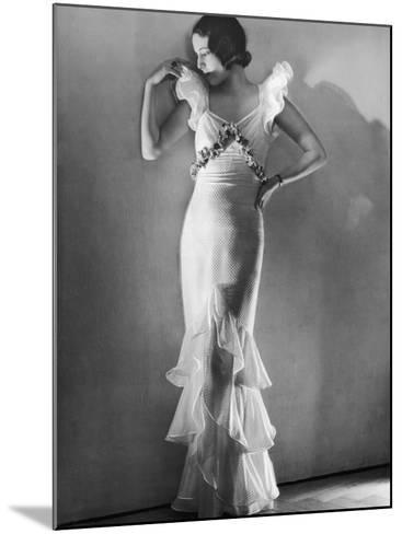 Elegant Woman, 1930s--Mounted Photographic Print