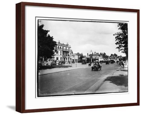 High Street, Woodford Green, London Borough of Redbridge--Framed Art Print